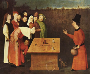 The Conjuror by Hieronymous Bosch